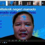 Apel Perdana Virtual via Zoom Pimpinan, Tenaga Pendidik dan Kependidikan Politeknik Negeri Manado.