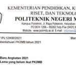Informasi PK2MB Politeknik Negeri Manado Tahun 2021