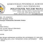 Pengumuman Petunjuk Semester Antara Politeknik Negeri Manado
