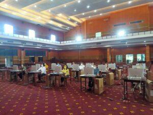 Pelaksanaan Assessment Prediksi Kompetensi 2021 bagi ASN Tenaga Kependidikan yang ada di Politeknik Negeri Manado